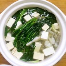 水鱼豆腐汤