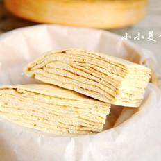 千层蒸饼:柔软养胃的家常主食