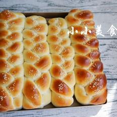 辫子面包:漂亮的面包,制作并不难