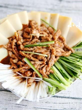 京酱肉丝,搭配什么主食都好吃的做法