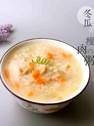 宝宝辅食冬瓜瘦肉二米粥的做法