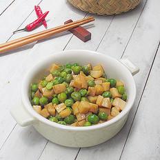 蚝油青豆杏鲍菇