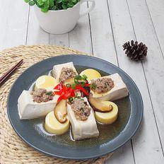 鲜味百花豆腐的做法[图]