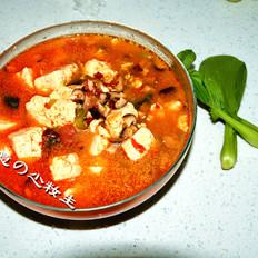 红烧汤汁豆腐