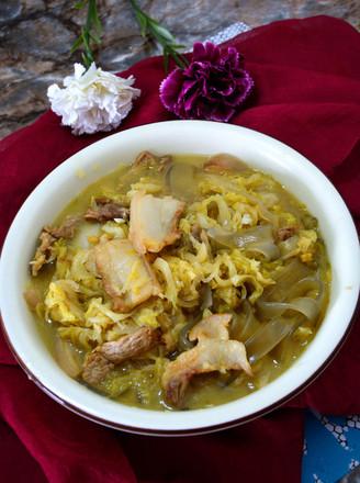 酸菜炖白肉的做法