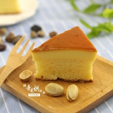 口感丰富化的——焦糖布丁蛋糕