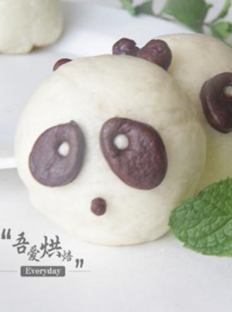 快来笑我家熊猫宝宝的做法