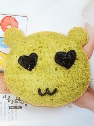 萌萌哒&小熊面包的做法