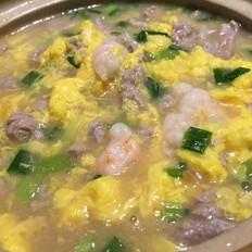 滑蛋虾仁牛肉的做法[图]
