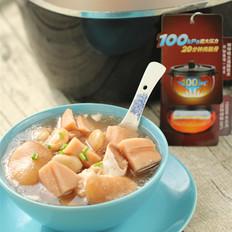 莲藕芸豆蹄花汤