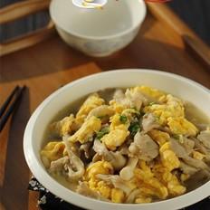平菇炒鸡蛋