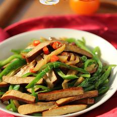 青椒榨菜干子