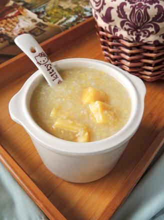 玉米渣红薯粥的做法