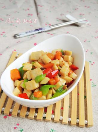 素炒杏鲍菇的做法