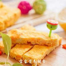 豆腐虾肉蔬菜条