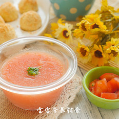 番茄菜花泥