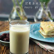 坚果杂米豆浆