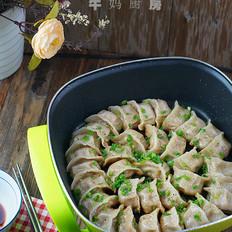黑椒葱香煎饺