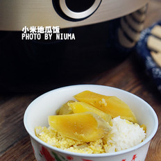 小米地瓜饭的做法[图]