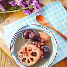双红莲藕甜汤