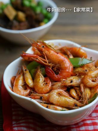 椒香河虾的做法