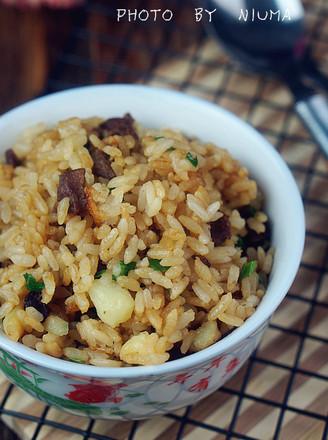 牛肉土豆焖饭的做法