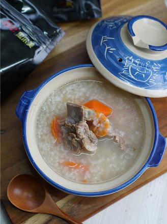 猪骨胡萝卜粥的做法