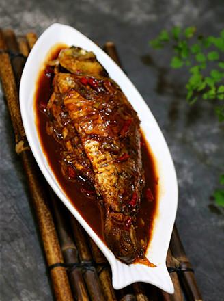 酱烧鲫鱼的做法