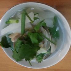 白贝萝卜汤的做法[图]