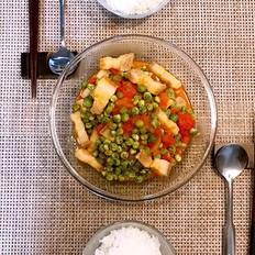 豌豆番茄五花肉