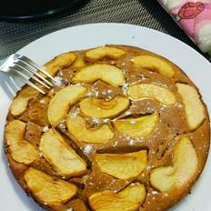 无油肉桂红糖苹果蛋糕