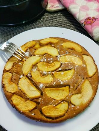 无油肉桂红糖苹果蛋糕的做法