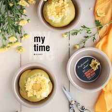 黄桃奶酪抹茶包