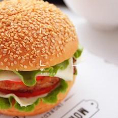 黑椒雞肉漢堡