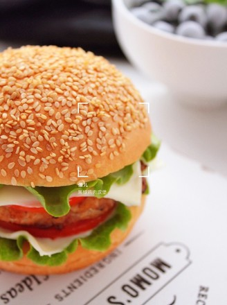 黑椒鸡肉汉堡的做法