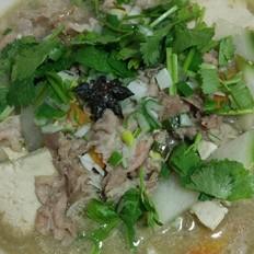 萝卜豆腐羊肉汤