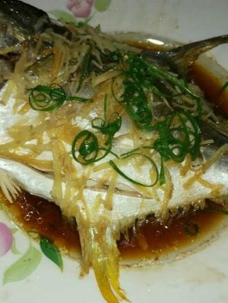 v辅食金辅食的做法【步骤图】_鲳鱼_菜谱杰半岁食谱大全美食图片