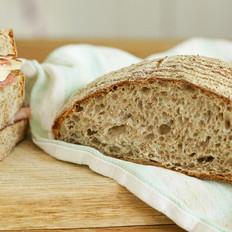 全麦乡村面包