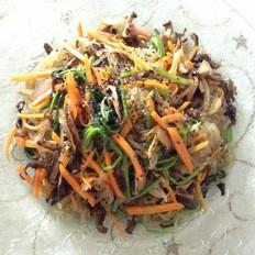 韩式凉拌杂菜