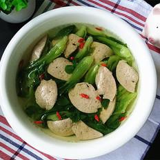 青菜秧猪肝汤的做法[图]