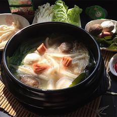 浓汤面疙瘩火锅的做法[图]