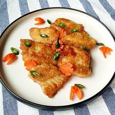 沙拉汁焗煎巴沙鱼