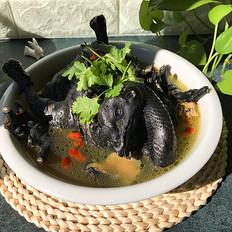 乌骨鸡枸杞汤的做法[图]