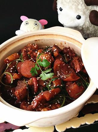 打印#圣诞节#海鲜酱羊头肉的做法(美食杰)