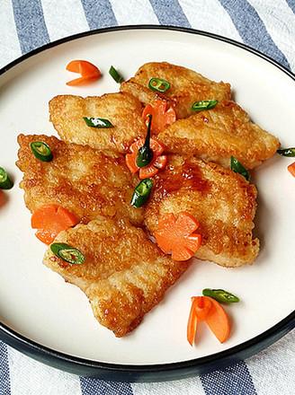 沙拉汁焗煎巴沙鱼的做法