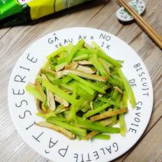 芹菜炒香干#金鸡报喜合家乐