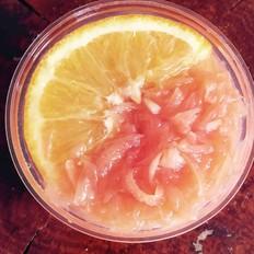 柠檬蜂蜜红心柚子茶