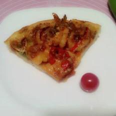 牛肉大虾披萨的做法[图]