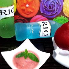 RIO微醺——红啤梨沙冰的做法[图]