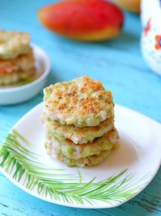 蔬菜虾肉饼的做法
